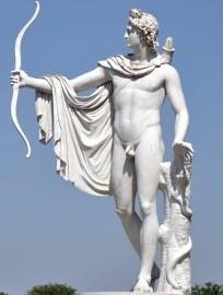 Apollo met boog